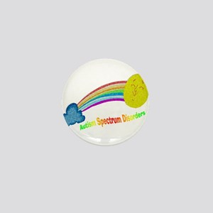 Asd Puzzle Rainbow Mini Button