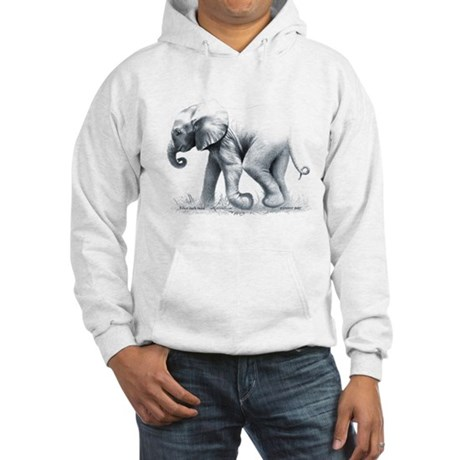 Baby Elephant Hooded Sweatshirt
