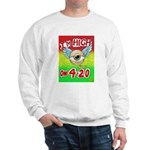 I'm High On 4/20 Sweatshirt