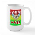 I'm High On 4/20 Large Mug Mugs