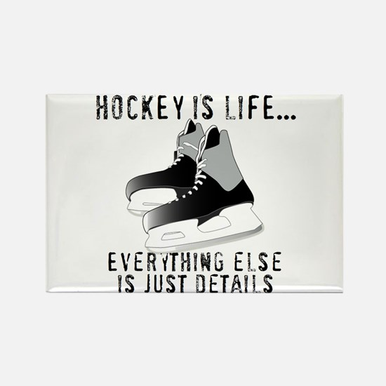 Ice Hockey is Life Magnets