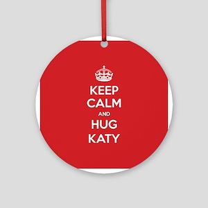 Hug Katy Ornament (Round)
