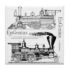Engenius Black Tile Coaster
