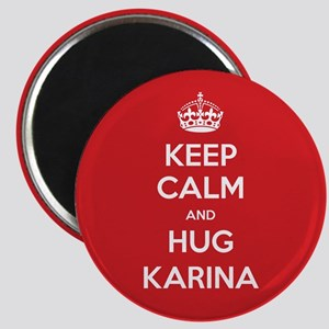 Hug Karina Magnets