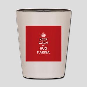 Hug Karina Shot Glass