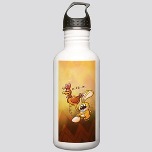 Easter Bunny Stealing  Stainless Water Bottle 1.0L