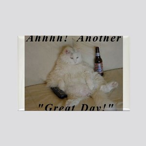 drunk cat Magnets