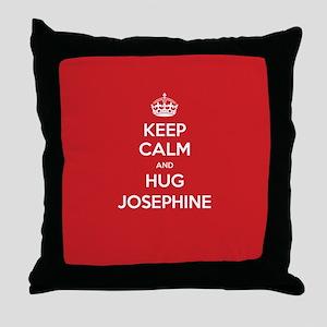 Hug Josephine Throw Pillow