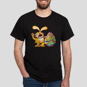 Easter Bunny Proud of his Big Decorat Dark T-Shirt