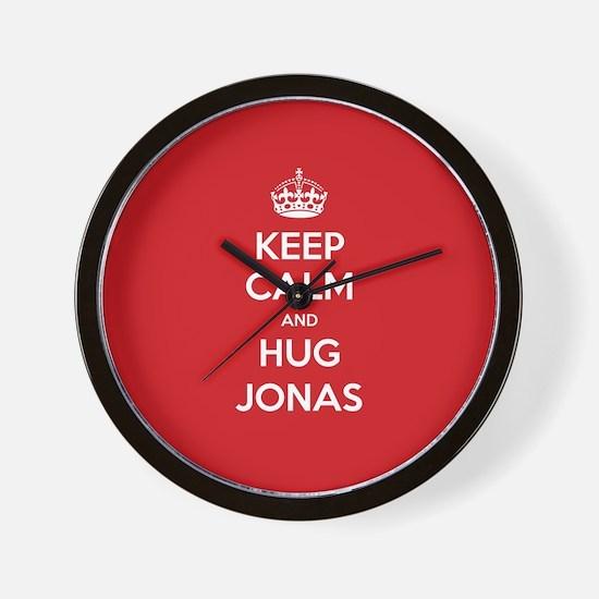 Hug Jonas Wall Clock