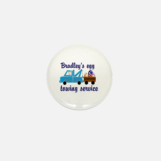 Personalize Easter Egg Towing Mini Button