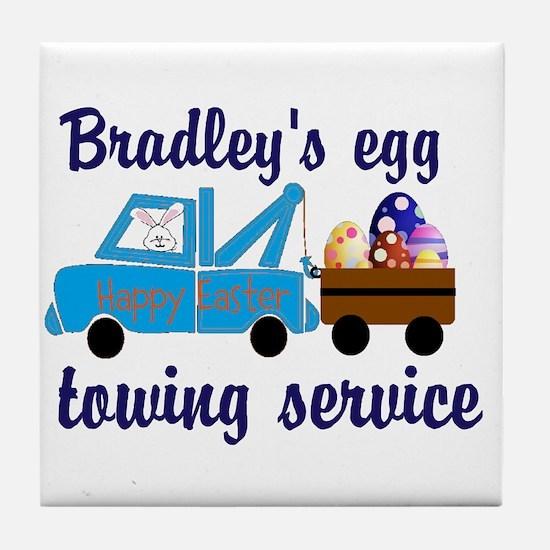 Boys Easter Design Tile Coaster