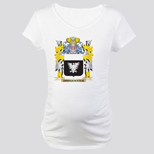 Bridgewater Coat of Arms - Famil Maternity T-Shirt