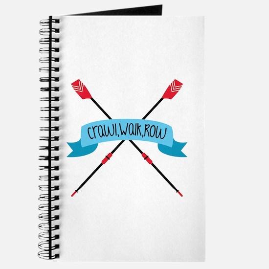 Crawl Walk Row Journal