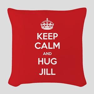 Hug Jill Woven Throw Pillow