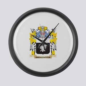 Bridgewater Coat of Arms - Family Large Wall Clock