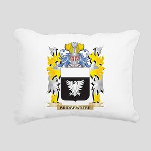 Bridgewater Coat of Arms Rectangular Canvas Pillow