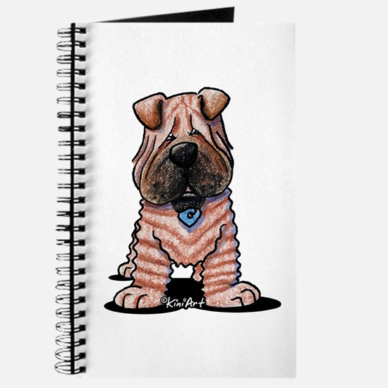 Shar Pei Caricature Journal