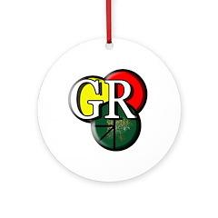 Gr Logo Ornament (round)