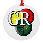 Gr Logo Round Ornament