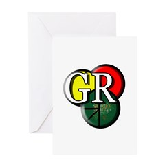 GR logo Greeting Cards
