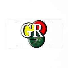 GR logo Aluminum License Plate