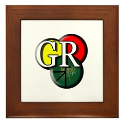 GR logo Framed Tile