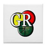 GR logo Tile Coaster