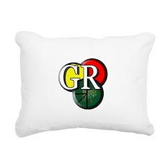 GR logo Rectangular Canvas Pillow