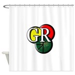 Gr Logo Shower Curtain