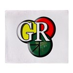 Gr Logo Throw Blanket