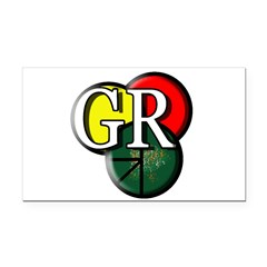GR logo Rectangle Car Magnet