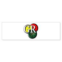 Gr Logo Bumper Bumper Sticker