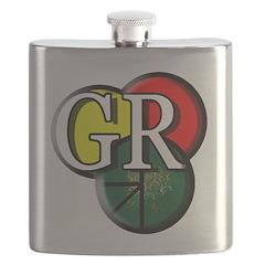 GR logo Flask