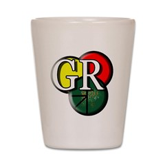 GR logo Shot Glass