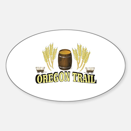 oregon trail art fun Decal