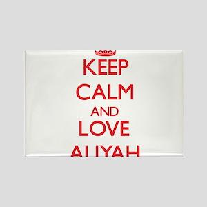 Keep Calm and Love Aliyah Magnets