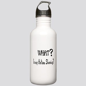 what~Autism showing Water Bottle