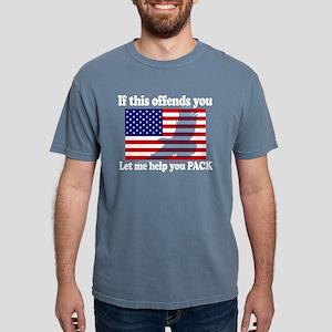 Flag Eagle Patrio T-Shirt