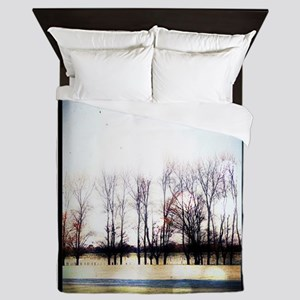 Trees 2 Queen Duvet