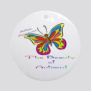 Beauty Of Autism Ornament (round)