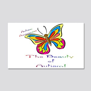 Beauty Of Autism 20x12 Wall Decal