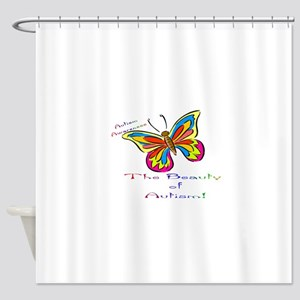 beauty of autism Shower Curtain