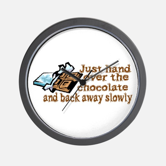 Gimme Chocolate Wall Clock