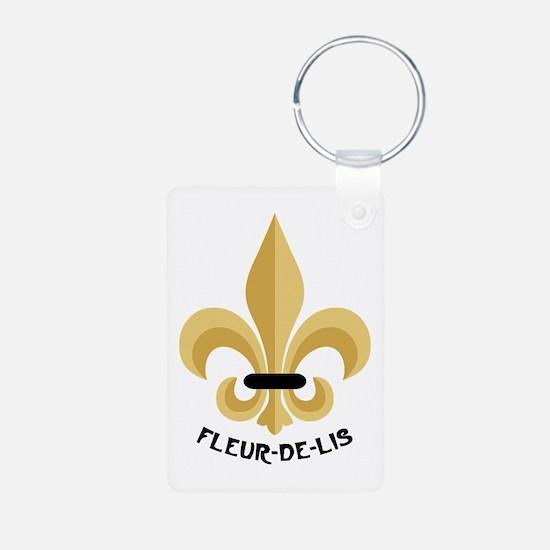 New Orleans Fleur De Lis Keychains