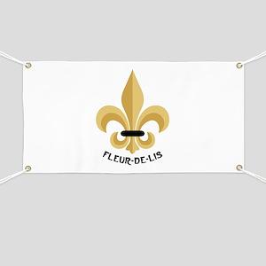 New Orleans Fleur De Lis Banner
