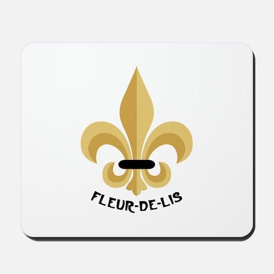 New Orleans Fleur De Lis Mousepad