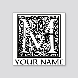 Custom Decorative Letter M Sticker