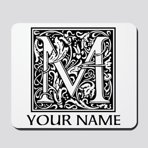 Custom Decorative Letter M Mousepad