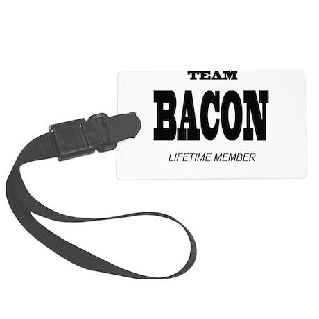 Bacon Large Luggage Tag